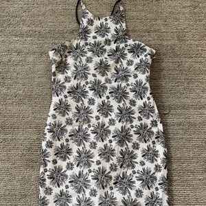 Lucca black floral dress size small NWOT